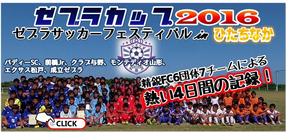 ZEBRA サッカーフェスティバル in ひたちなか