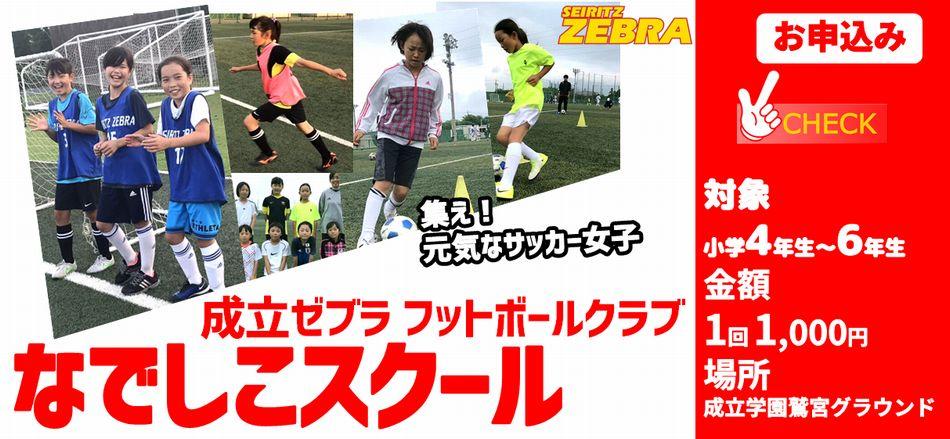 夏季~秋季 なでしこスクール開催!